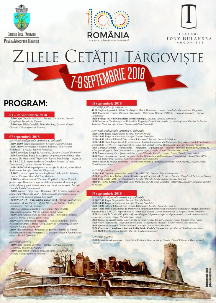 afis program zile cetate 2018-05